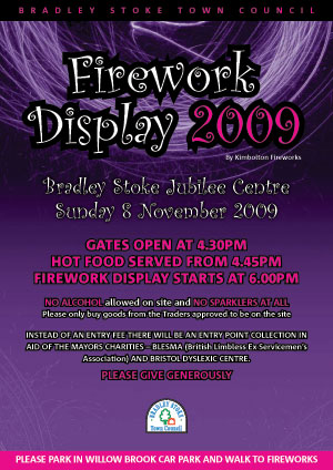 Missing your Fireworks this year? Come to Bradley Stoke