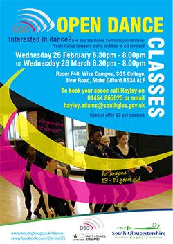 Open Dance Classes