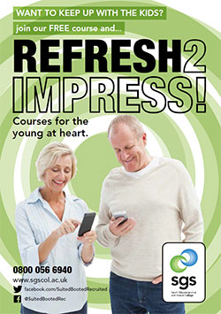 Over 50?  Attend our free course!