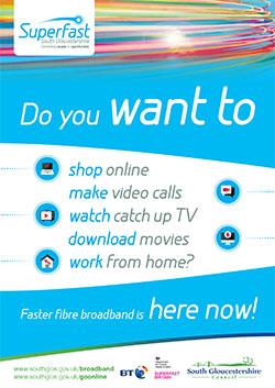 Fibre broadband in South Gloucestershire