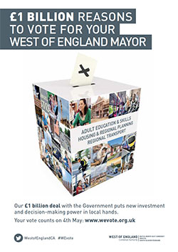 £1 Billion Reasons To Vote for Your West of England Mayor