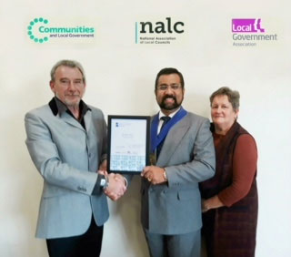 Bradley Stoke Town Council Awarded Quality Certificate by NALC