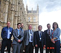 Town Councillors visit Westminster in Campaign for faster Broadband