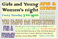 Girls and Young Women's night
