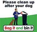 Dog owners reminded to 'Bag it and bin it'