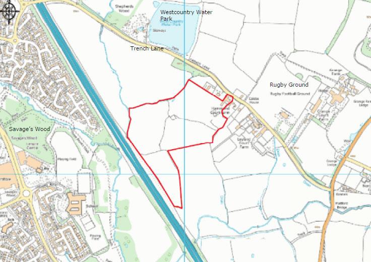 Proposed Solar Farm Site Location Plan
