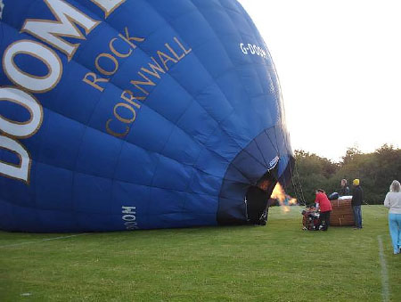 Early Morning Balloon Assent on Sunday 24th August 2014