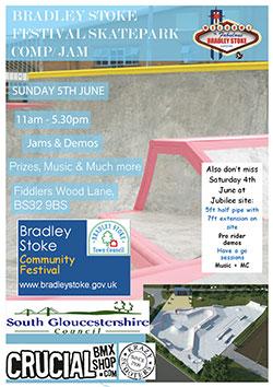 Bradley Stoke Festival Skatepark Comp/Jam