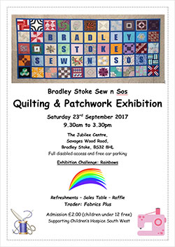 Bradley Stoke Sew n Sos Quilting & Patchwork Exhibition