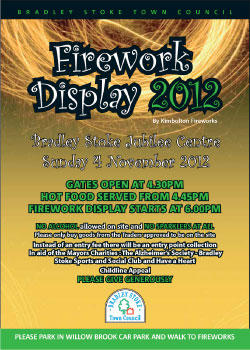 Fireworks Display 2012